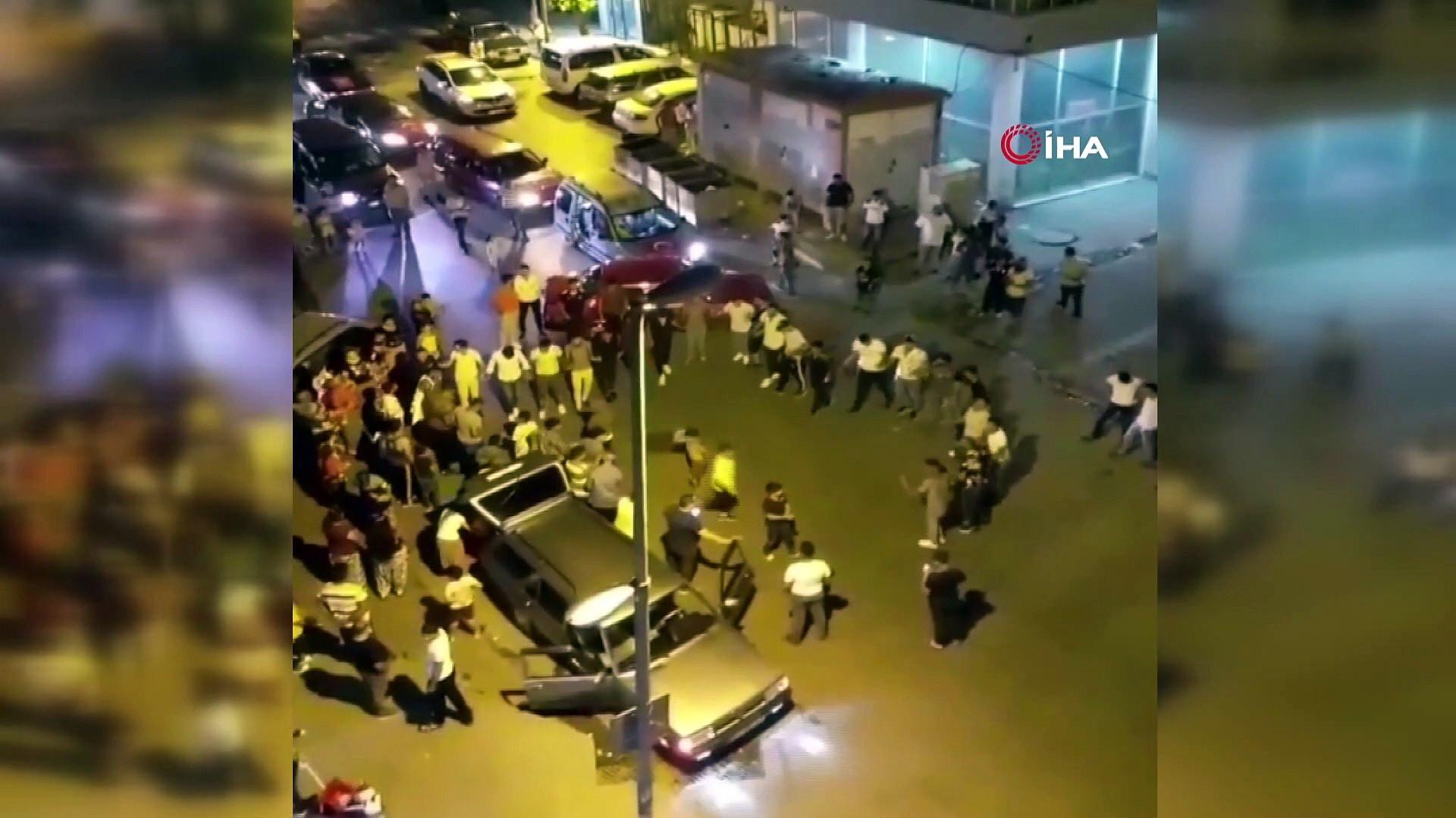 İstanbul'da koronavirüs halayı kamerada