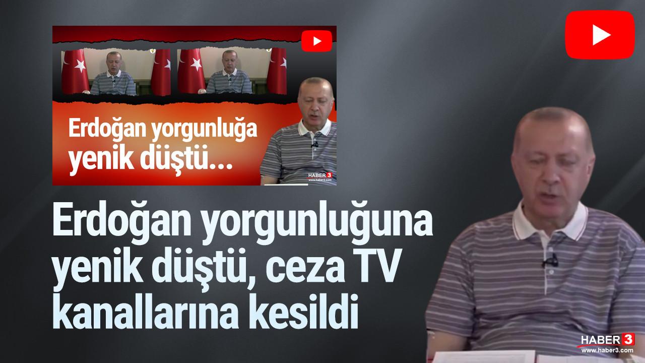 RTÜK'ten 2 kanala ''Erdoğan'' cezası