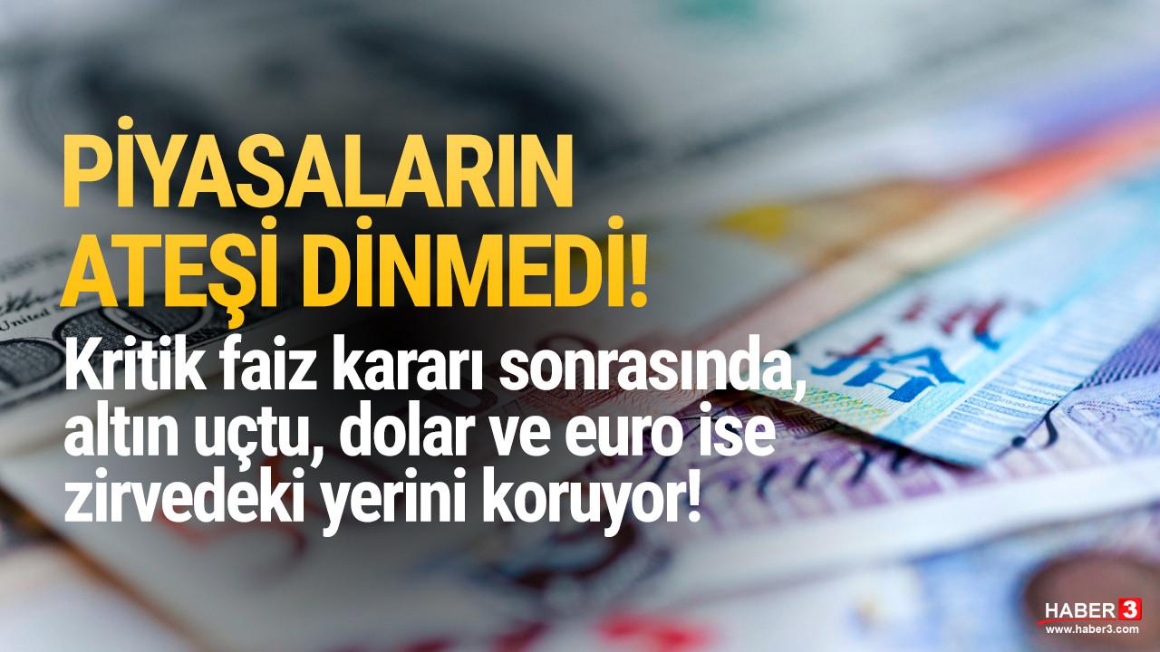 FED'in faiz kararı sonrası dolar, euro ve altında son durum