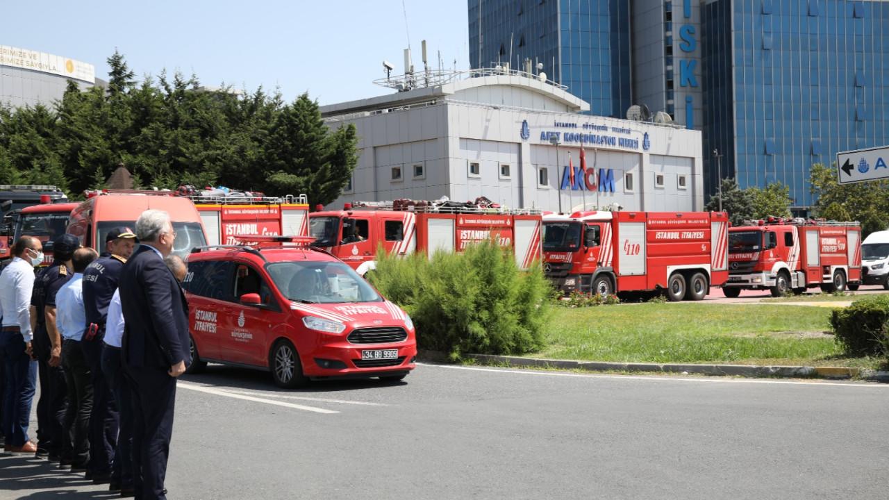 İBB ekipleri Manavgat'a hareket etti