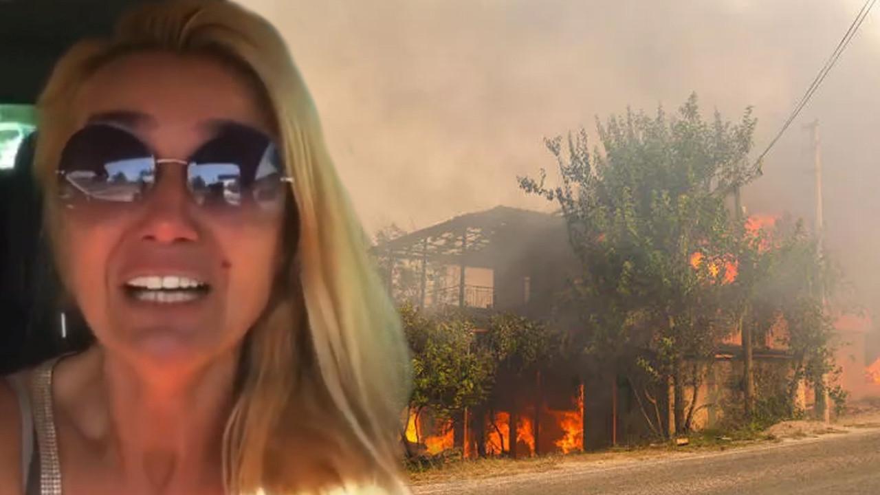 Çiftliği yanan Tuğba Özay ağlaya ağlaya yardım istedi: Ne olur sesimizi duyurun