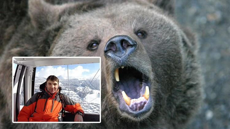 Korkunç olay: Kamp yapan turisti ayı yedi - Resim: 1