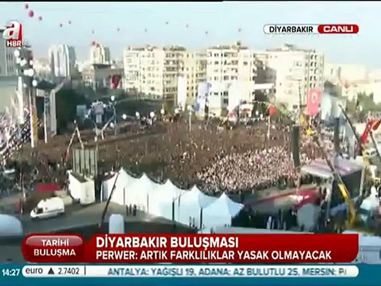 Şivan Perwer İbrahim Tatlıses Diyarbakır Konuşması