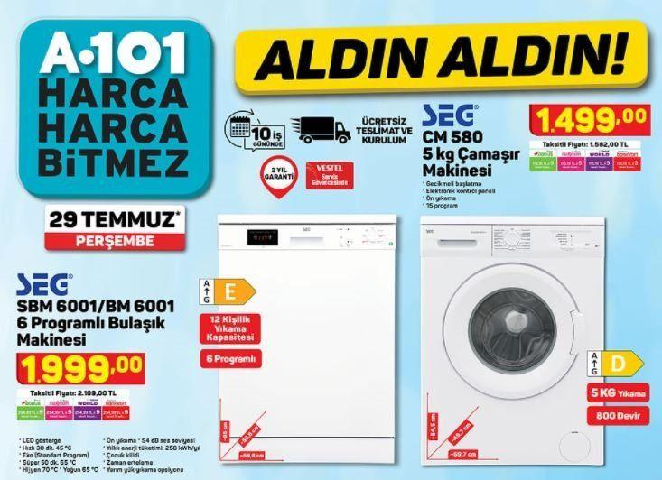 A101 29 Temmuz Aktüel Ürünler kataloğu - Resim: 3