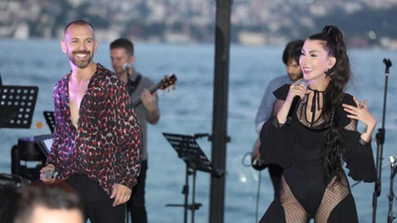 Hande Yener'den bikinili dans şov!