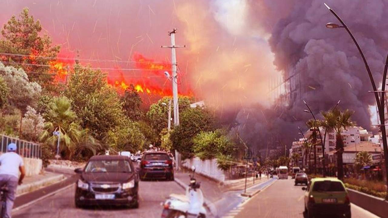 Erdoğan'a istifa çağrısı: ''300 odalı saray var, yangın söndürme uçağı yok''