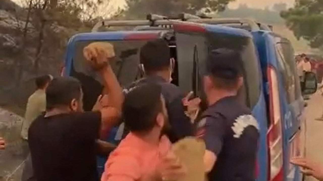 Manavgat'taki ''ormanı yaktılar'' linçi! Vatandaş 2 kişiyi linç etmeye kalkıştı