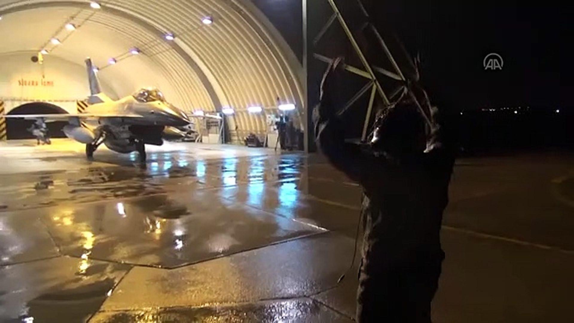 Kandil'e hava harekatı: 40'a yakın hedef yerle bir edildi