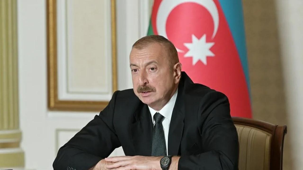 Aliyev'den Erdoğan'a taziye telefonu