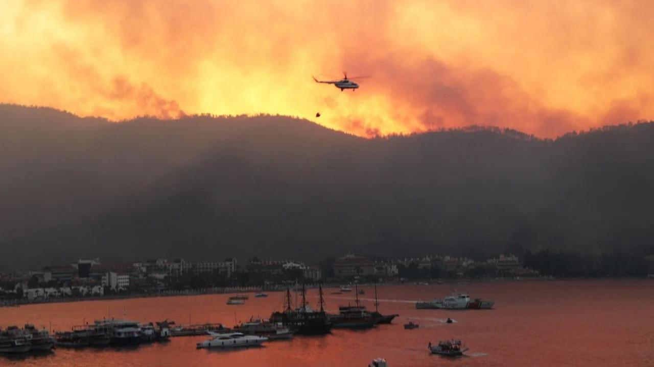 Marmaris'teki orman yangınının nedeni belli oldu
