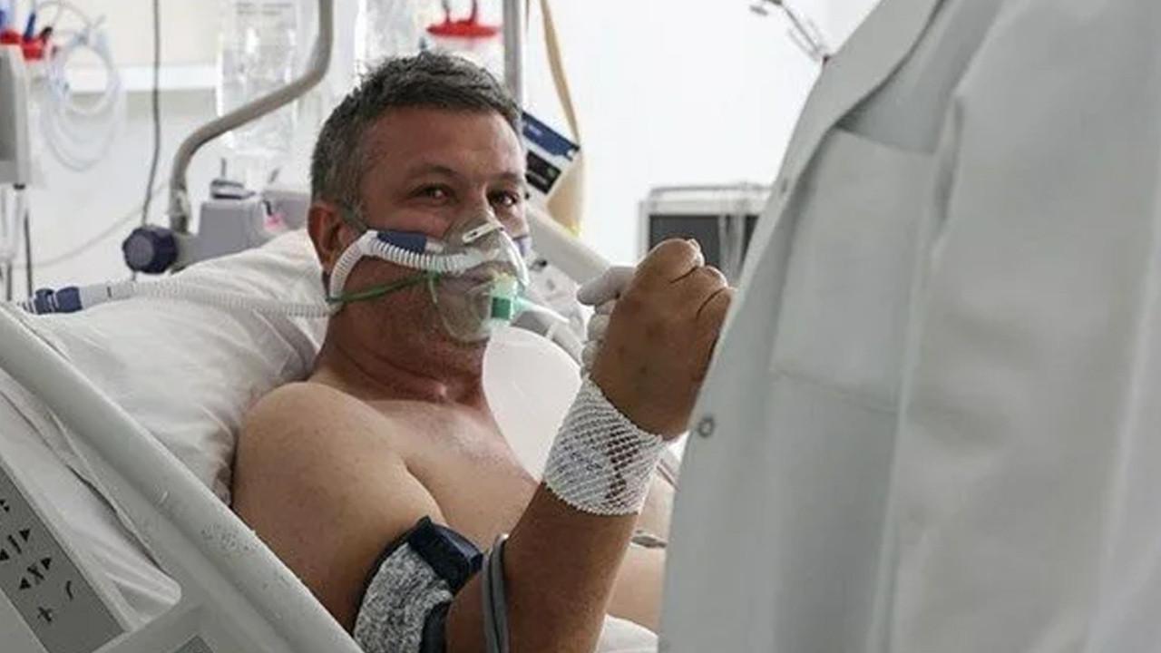 Yoğun bakımdaki korona hastasından aşı çağrısı