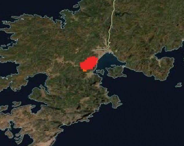 Türkiye'deki orman yangınları uzaydan görüntülendi - Resim: 4