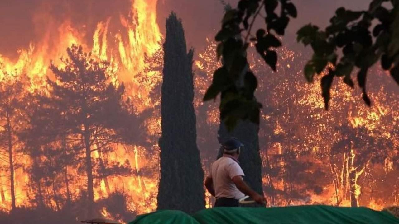 7 ilde 21 noktada orman yangını devam ediyor