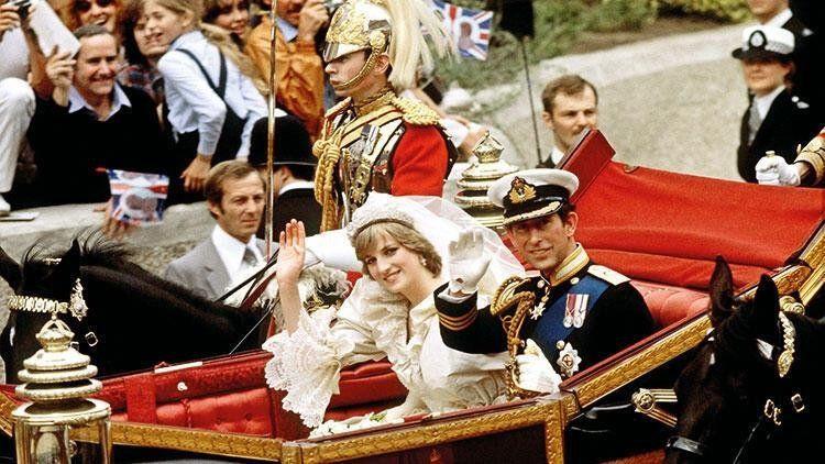 Prens Charles ve Diana'nın düğün pastası 40 yıl sonra satışa çıktı - Resim: 1