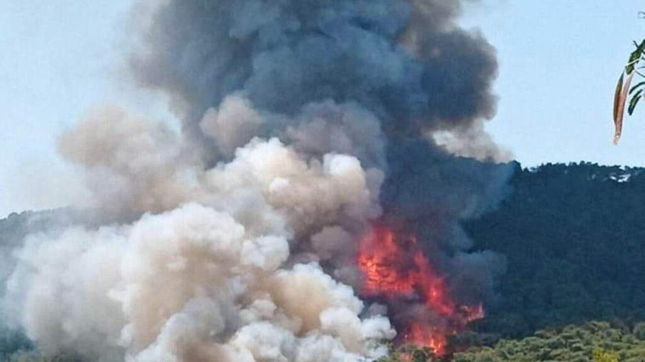 İşte Marmaris'teki orman yangını böyle başladı! O görüntüler ortaya çıktı