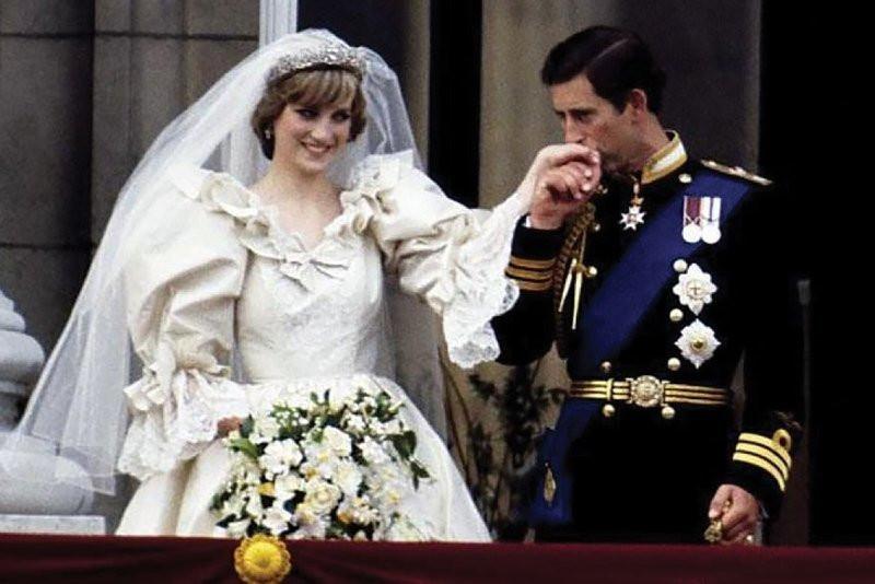 Prens Charles ve Diana'nın düğün pastası 40 yıl sonra satışa çıktı