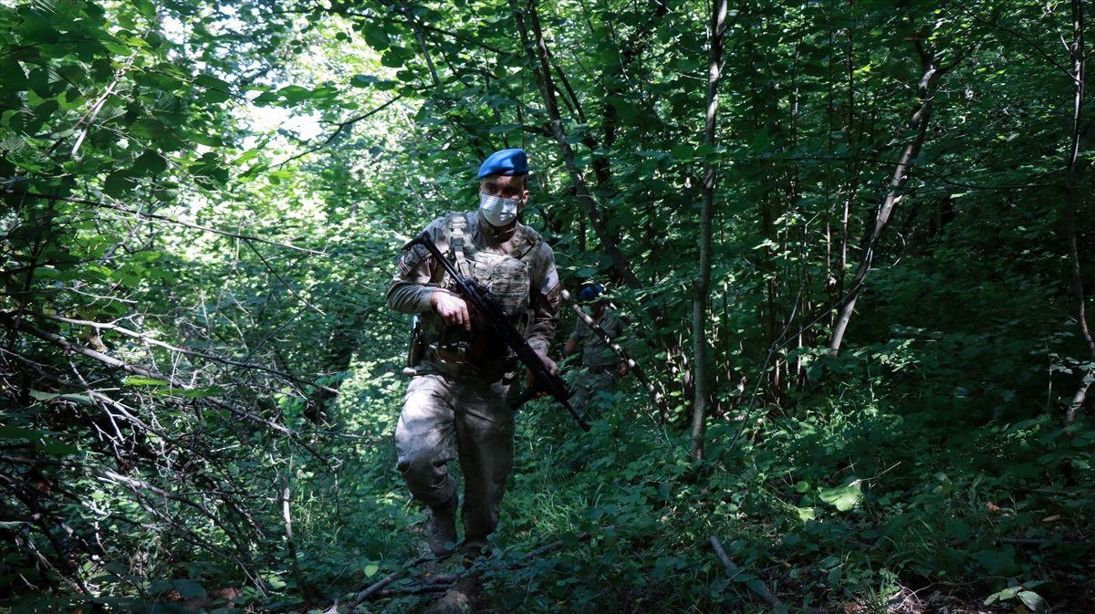 Ormanlarda ''yeşil vatan'' nöbeti