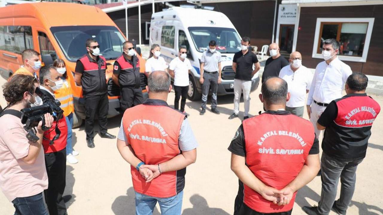 Kartal Belediyesi'nden Manavgat'a yardım eli