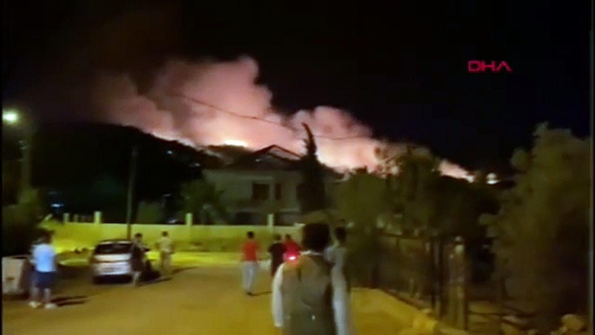 Son Dakika- Muğla'nın Fethiye ilçesinde orman yangını - Son Dakika Haberler
