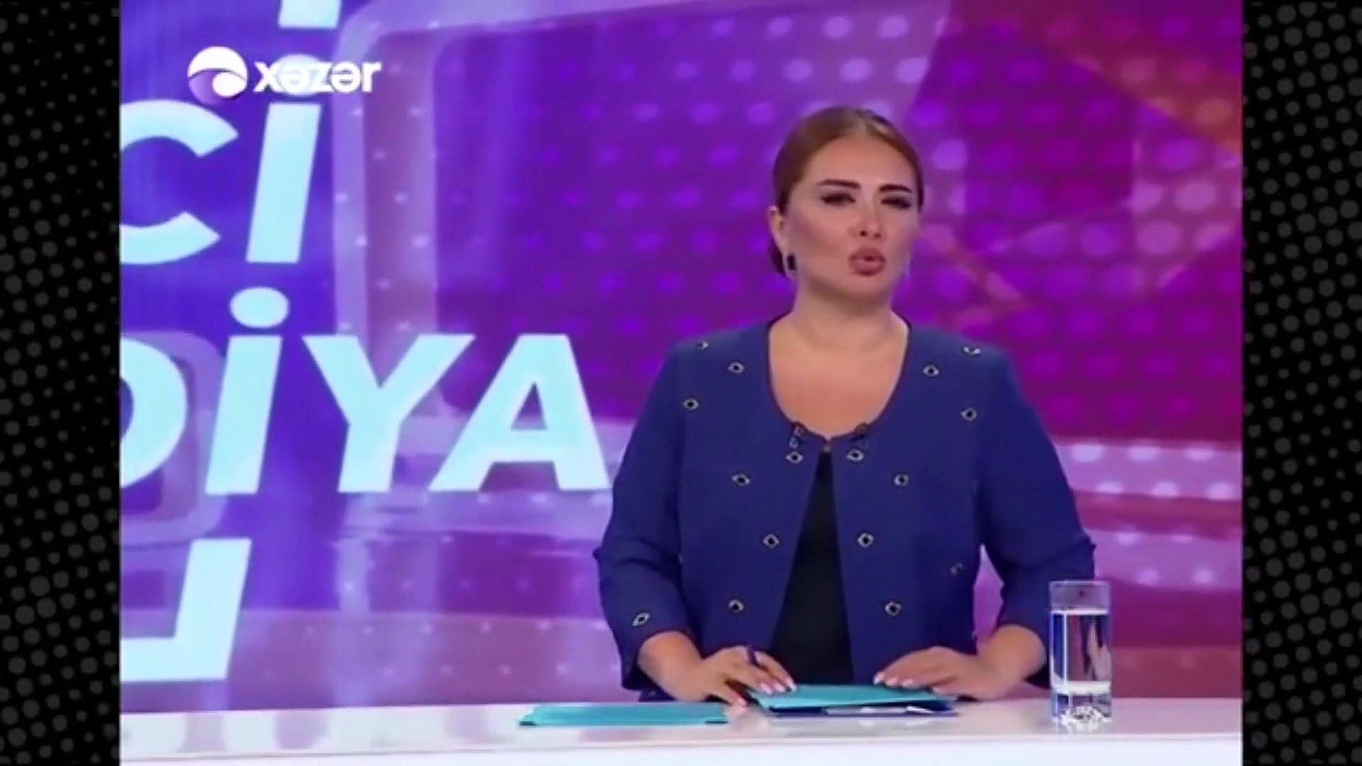 Azeri spikerin sözleri tüyleri diken diken etti
