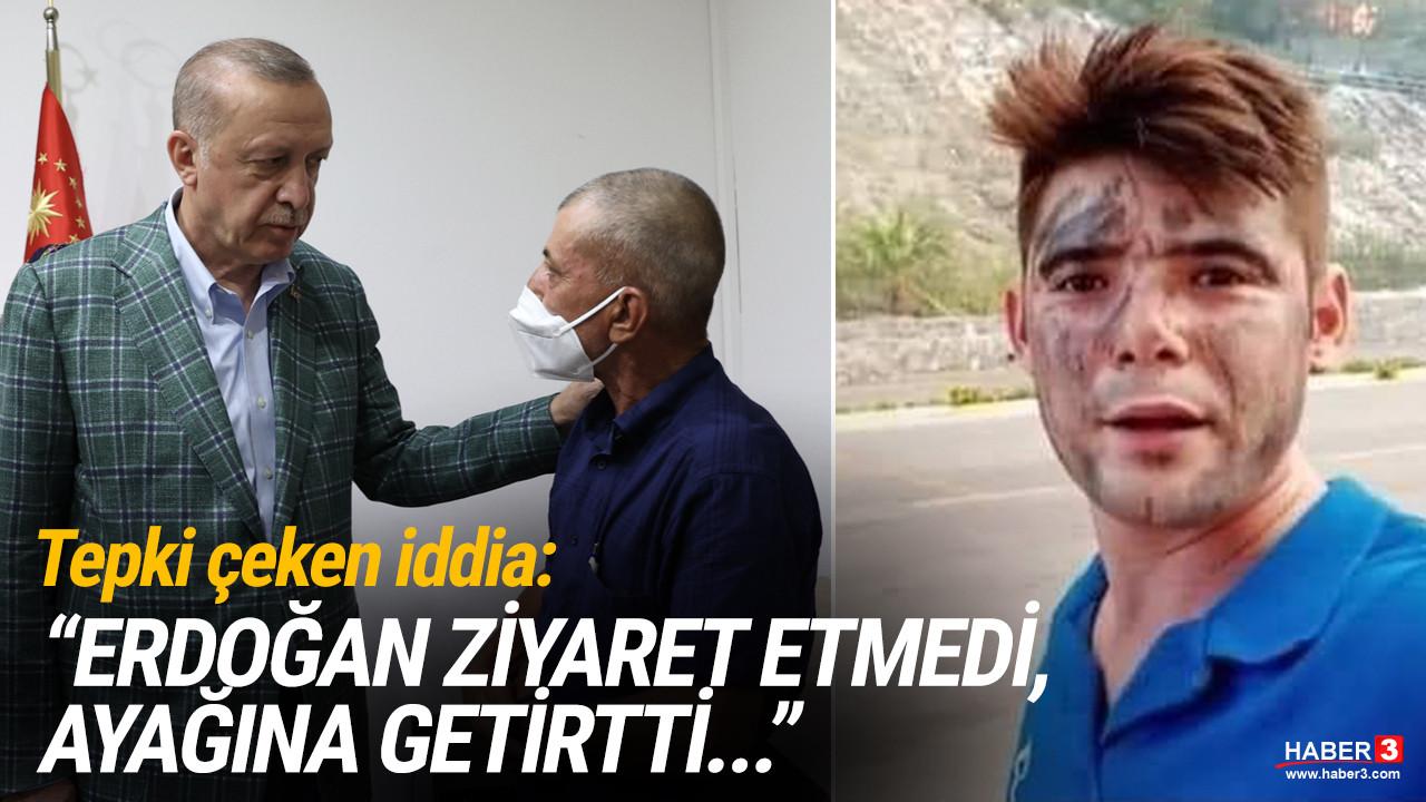 ''Erdoğan ziyaret etmedi, ayağına getirtti''