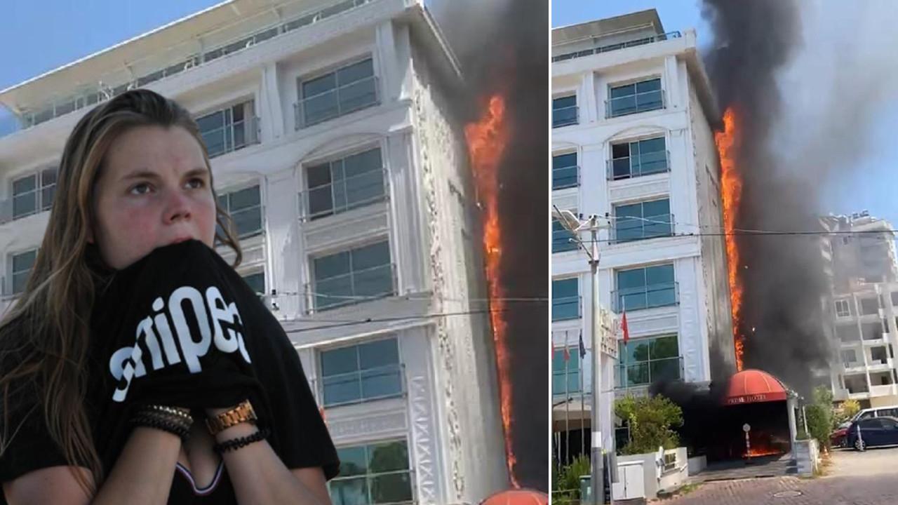 Antalya'da otelde yangın: Müşteriler tahliye edildi