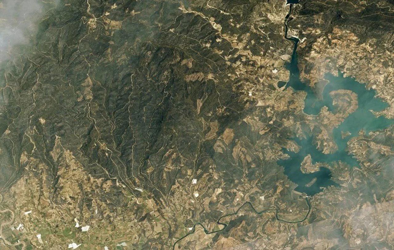 Felaketi en iyi anlatan fotoğraf: Orman yangınları uzaydan görüntülendi - Resim: 4