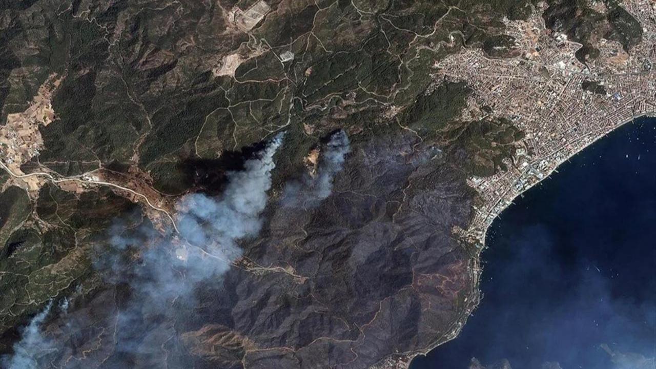 Felaketi en iyi anlatan fotoğraf: Orman yangınları uzaydan görüntülendi