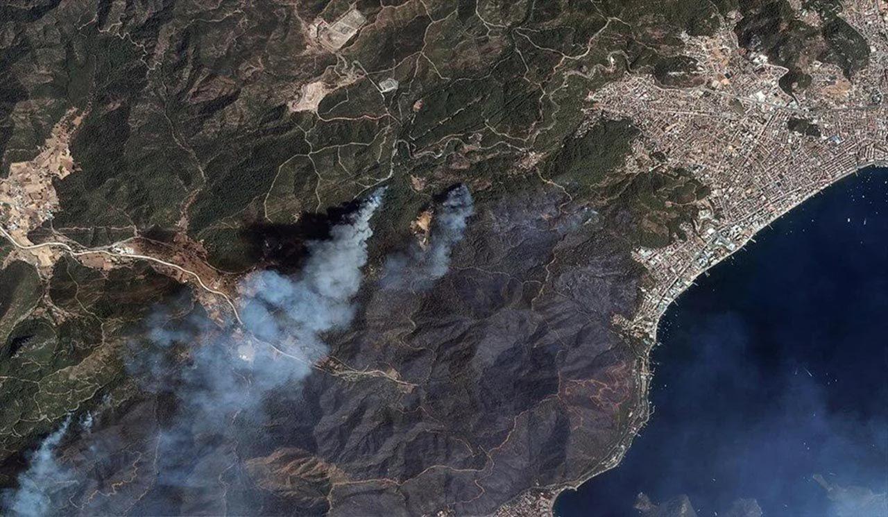 Felaketi en iyi anlatan fotoğraf: Orman yangınları uzaydan görüntülendi - Resim: 2