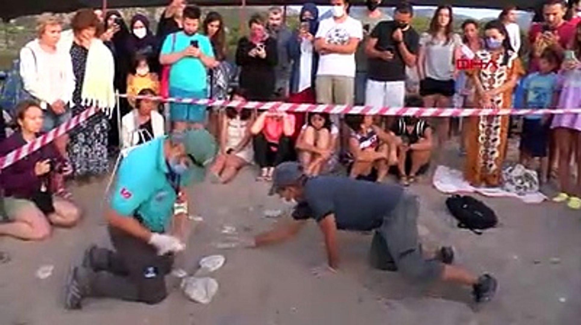 Antalya'da yangın felaketi: Yavru caretta carettalar yönlerini bulamadı