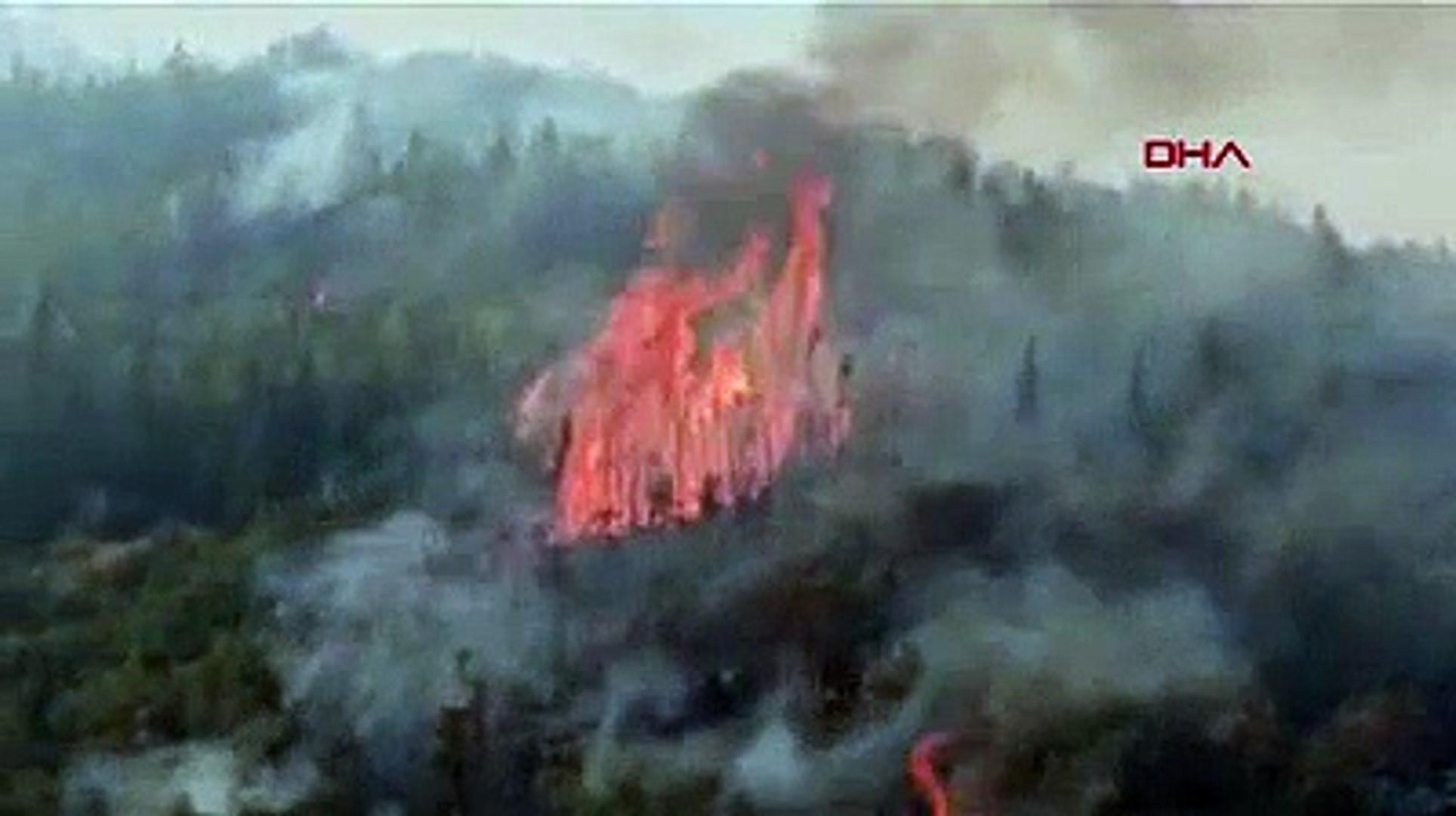 Muğla'da yangın kabusu büyüyor: İki mahalle tahliye edildi