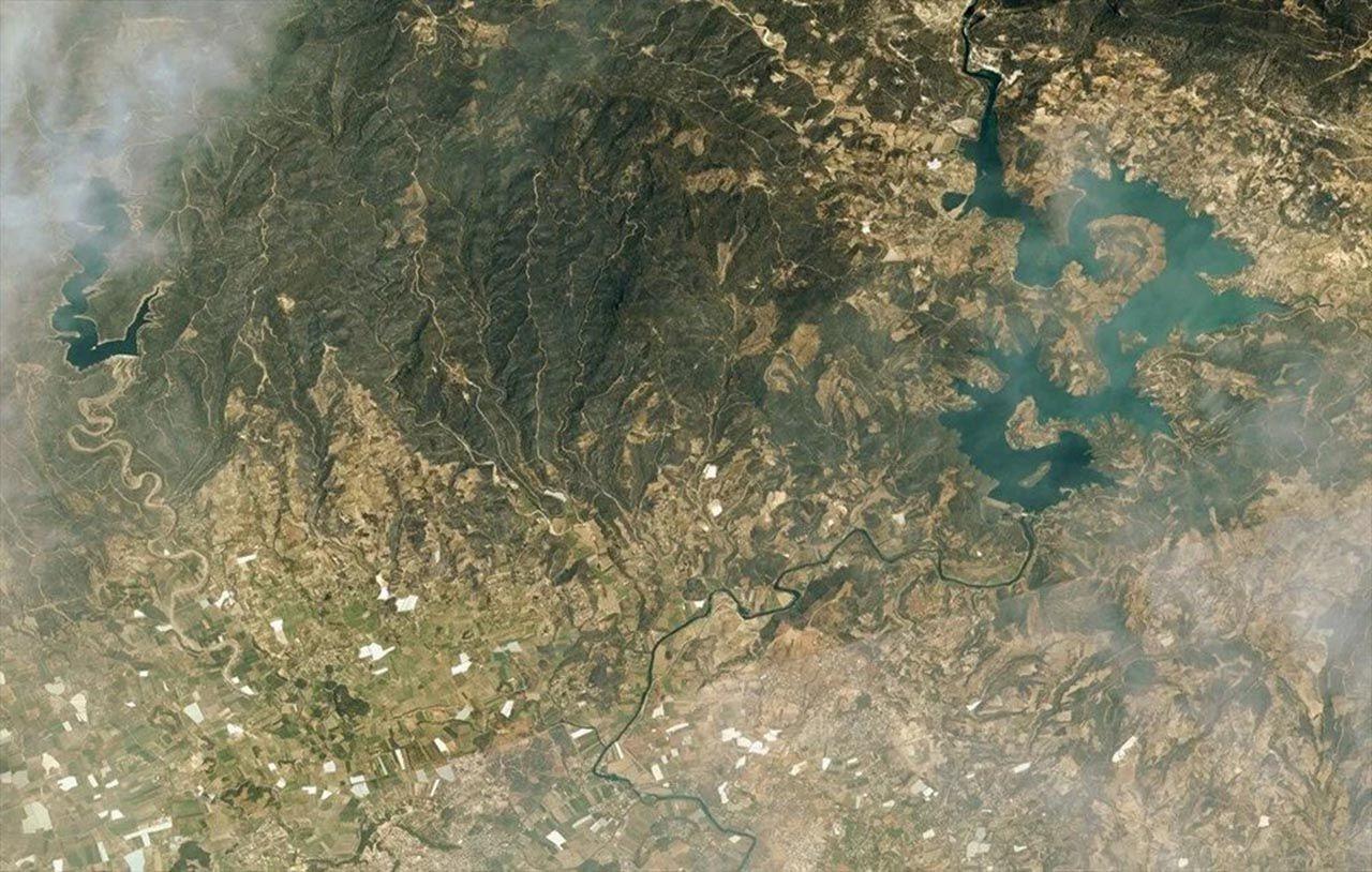 Felaketi en iyi anlatan fotoğraf: Orman yangınları uzaydan görüntülendi - Resim: 3