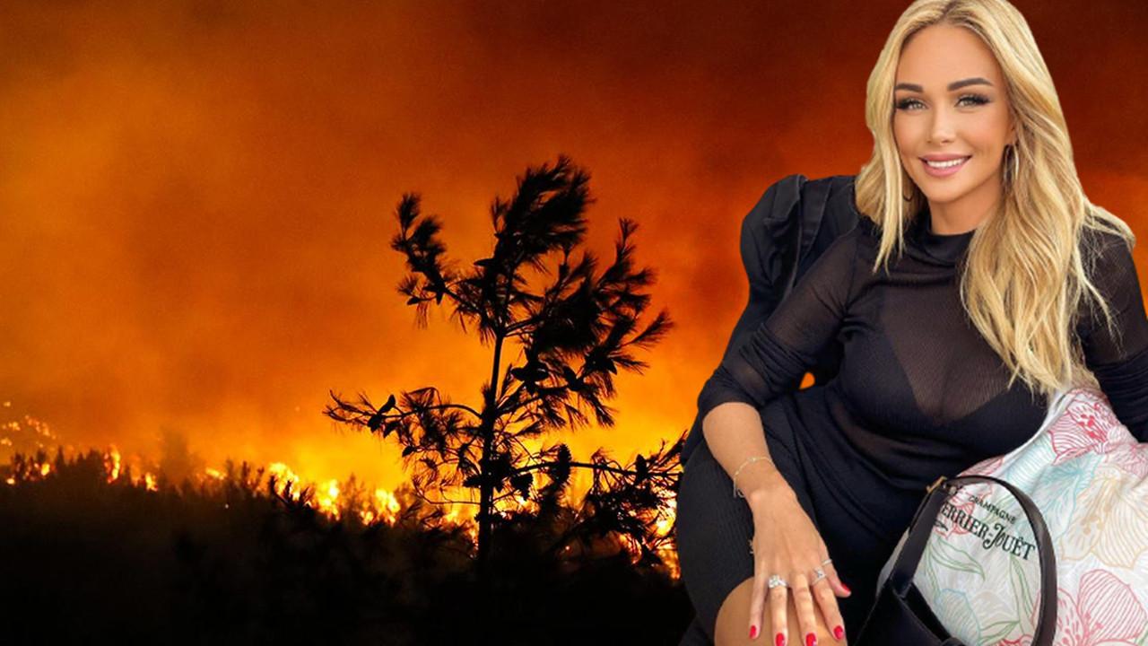 Rus fenomeninin yangın paylaşımına tepki yağdı