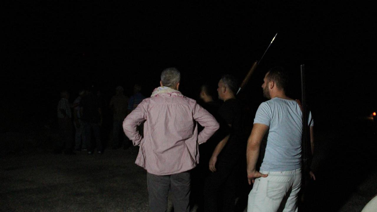 Manavgat'ta hareketli gece: Silahını alan koştu