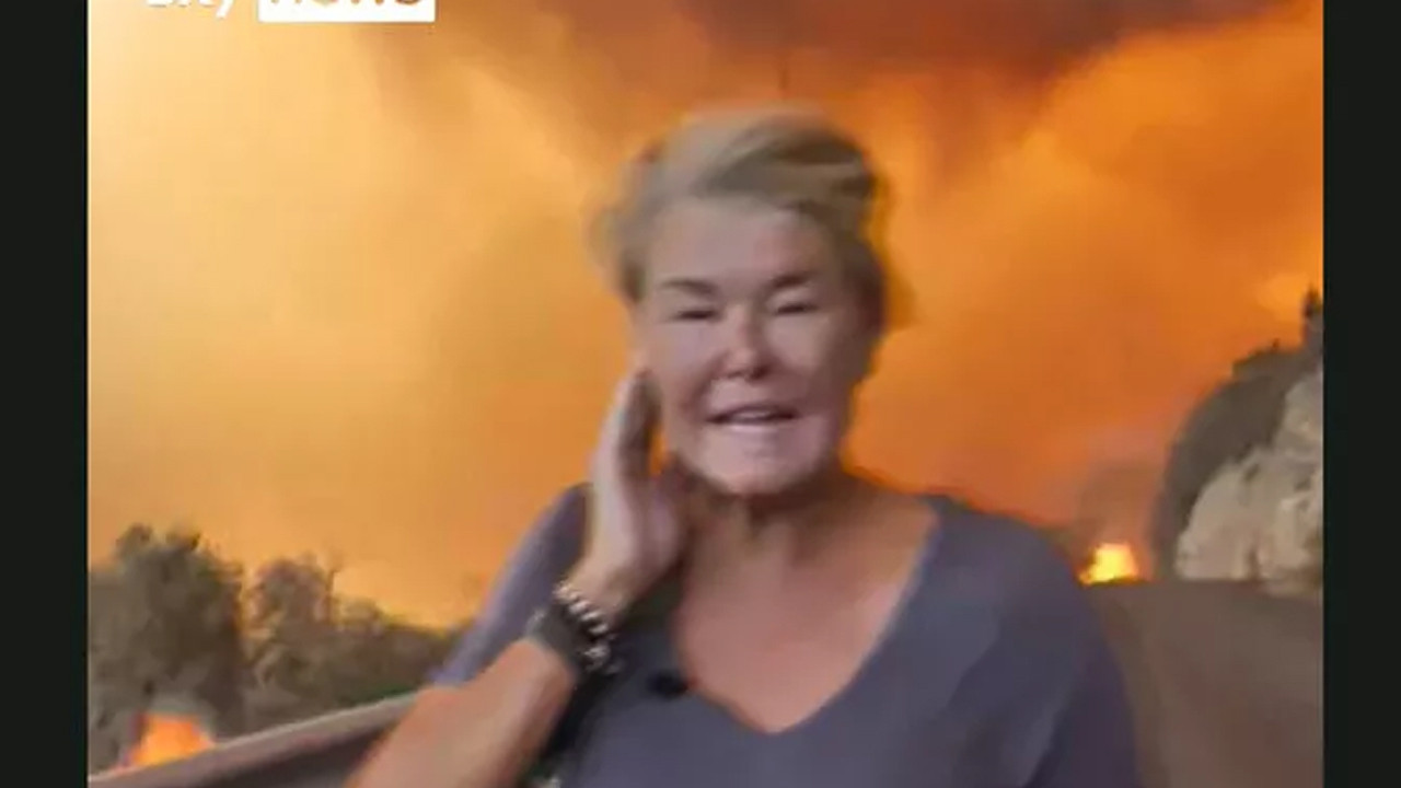 Türkiye'deki yangınlar dünya basınında: Muhabir alevlerin arasına daldı