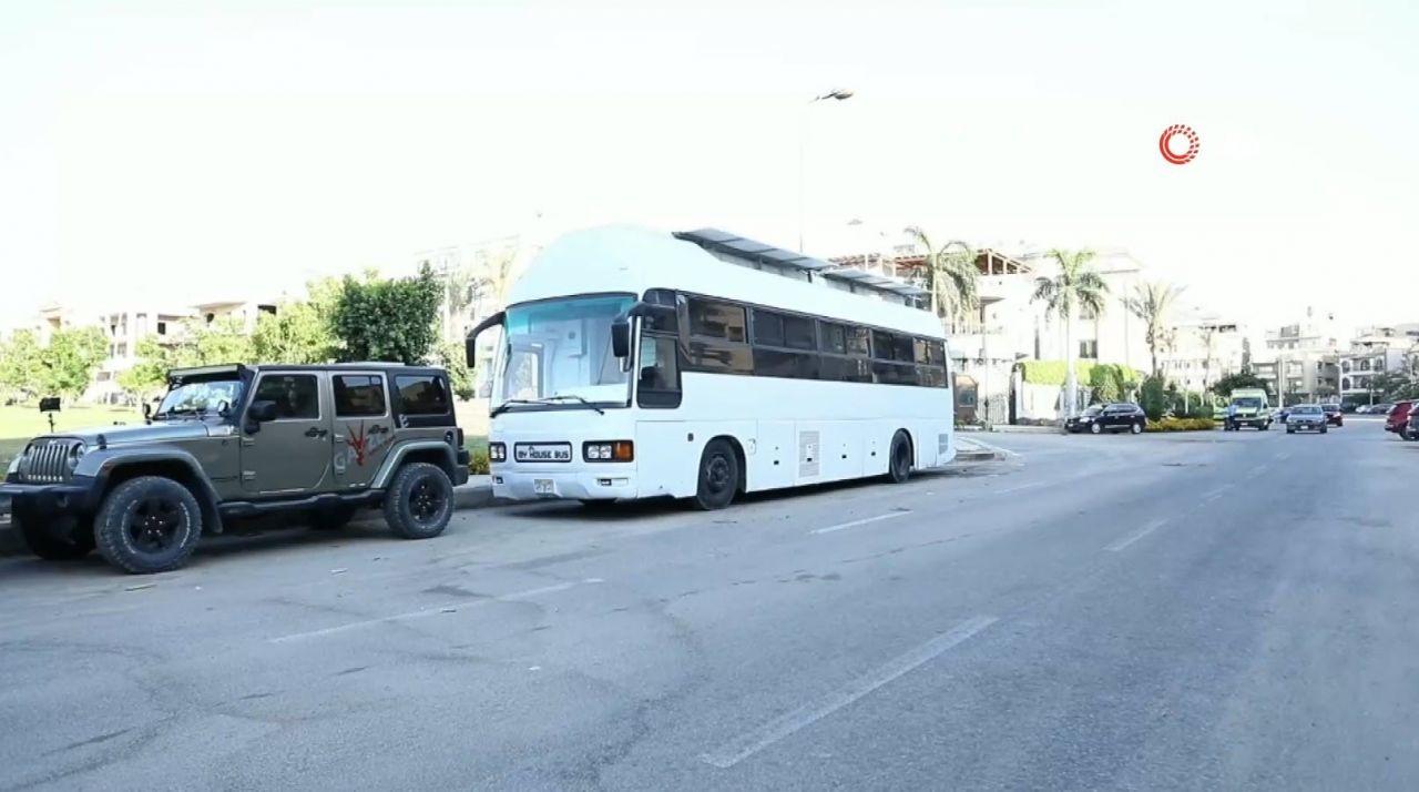 İkinci el otobüsten kendi evini yaptı - Resim: 1