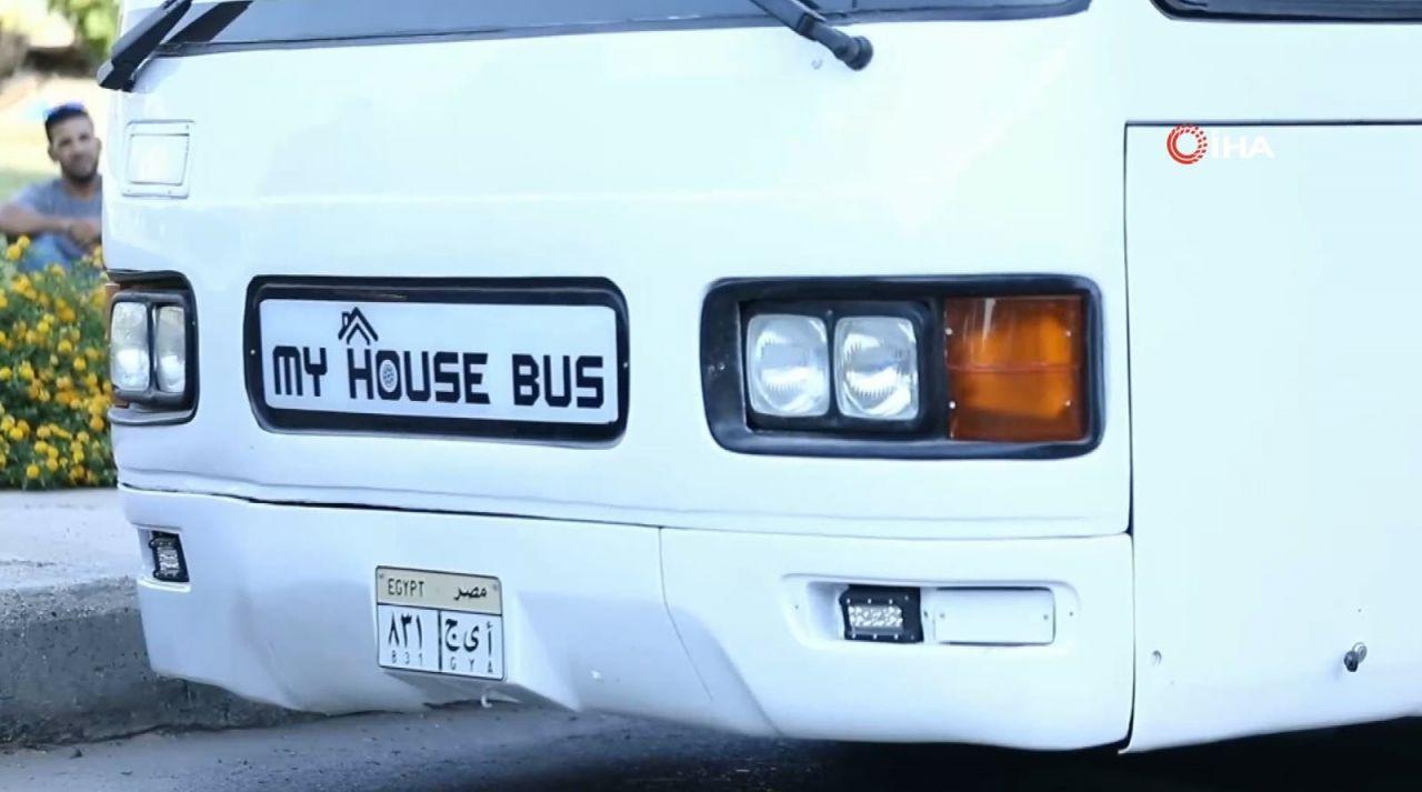 İkinci el otobüsten kendi evini yaptı - Resim: 3