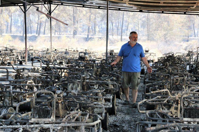 Manavgat'taki yangında dehşete düşüren sözler: ''200 metre alev topunun içinde kaldık'' - Resim: 1