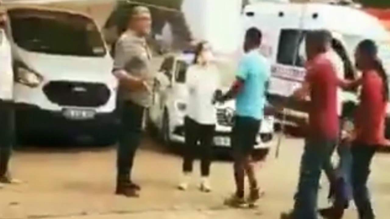 Marmaris'te vatandaş TRT ekibini böyle kovaladı