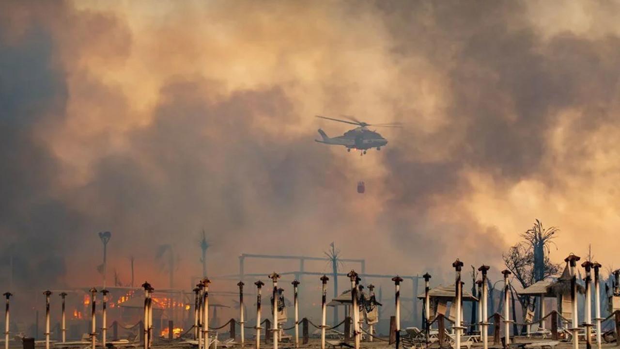 Türkiye, İtalya, İspanya... Akdeniz alev alev yanıyor