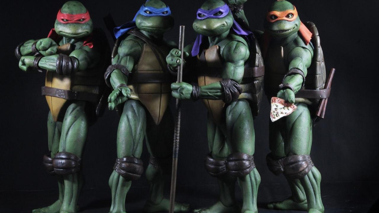 Ninja Kaplumbağalar geri dönüyor