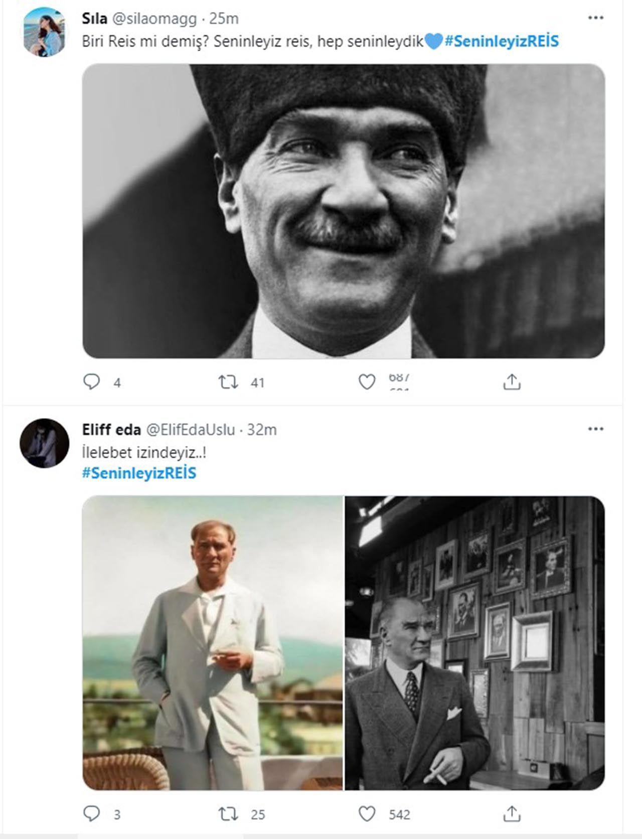 Twitter'daki Erdoğan kampanyasında Atatürk sürprizi - Resim: 1