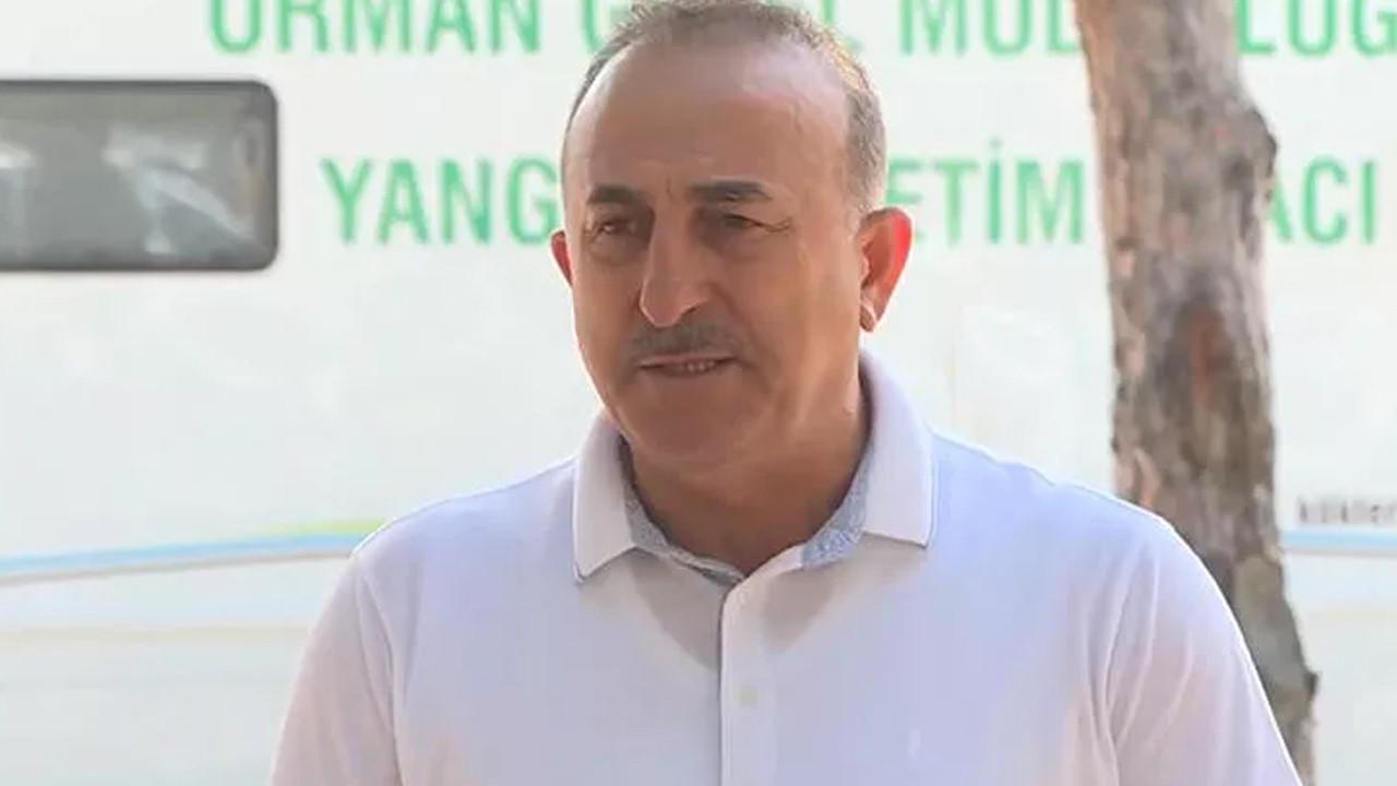 Çavuşoğlu yangında son durumu açıkladı: Bugün ve yarın kritik