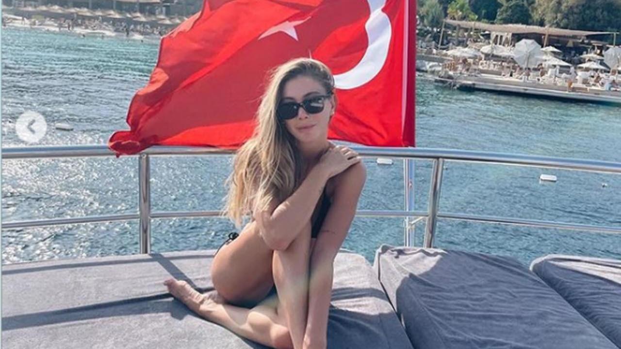 Bodrum'da tekne tatili yapan Şeyma Subaşı'nın savunması pes dedirtti!