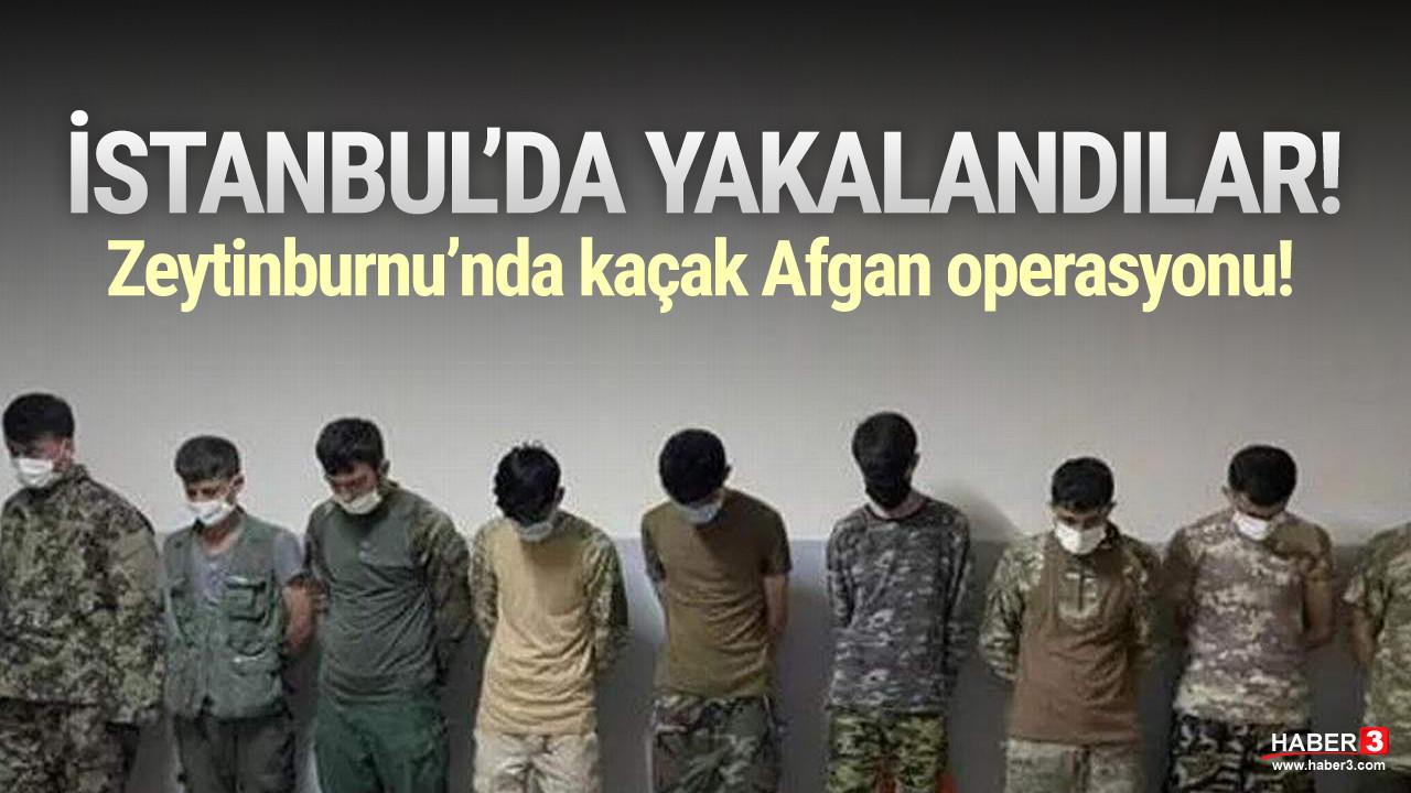 İstanbul'da Afgan göçmenler yakalandı