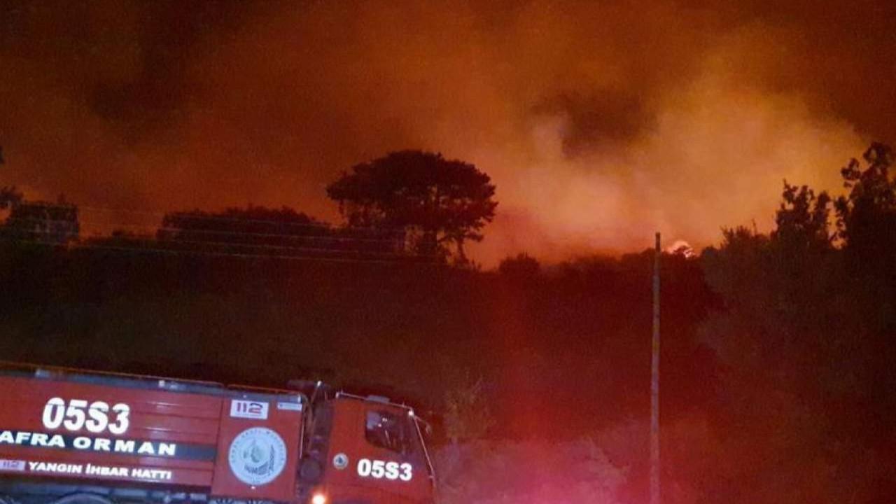 Aydın'da yangın yön değiştirdi, evler tahliye edildi