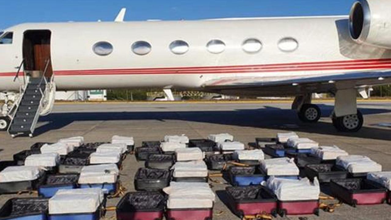 Brezilya polisi Türk uçağında yüzlerce kilo uyuşturucu ele geçirdi