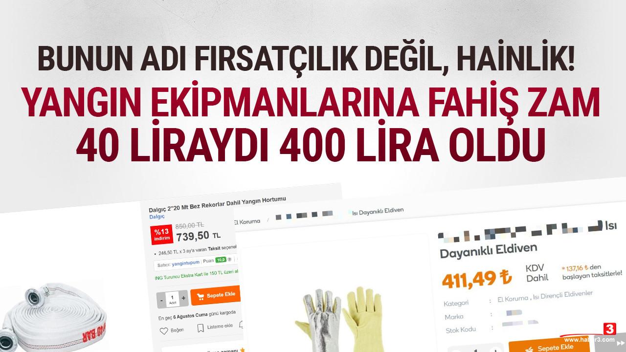 Fırsatçılar iş başında: 40 liraydı 400 lira oldu
