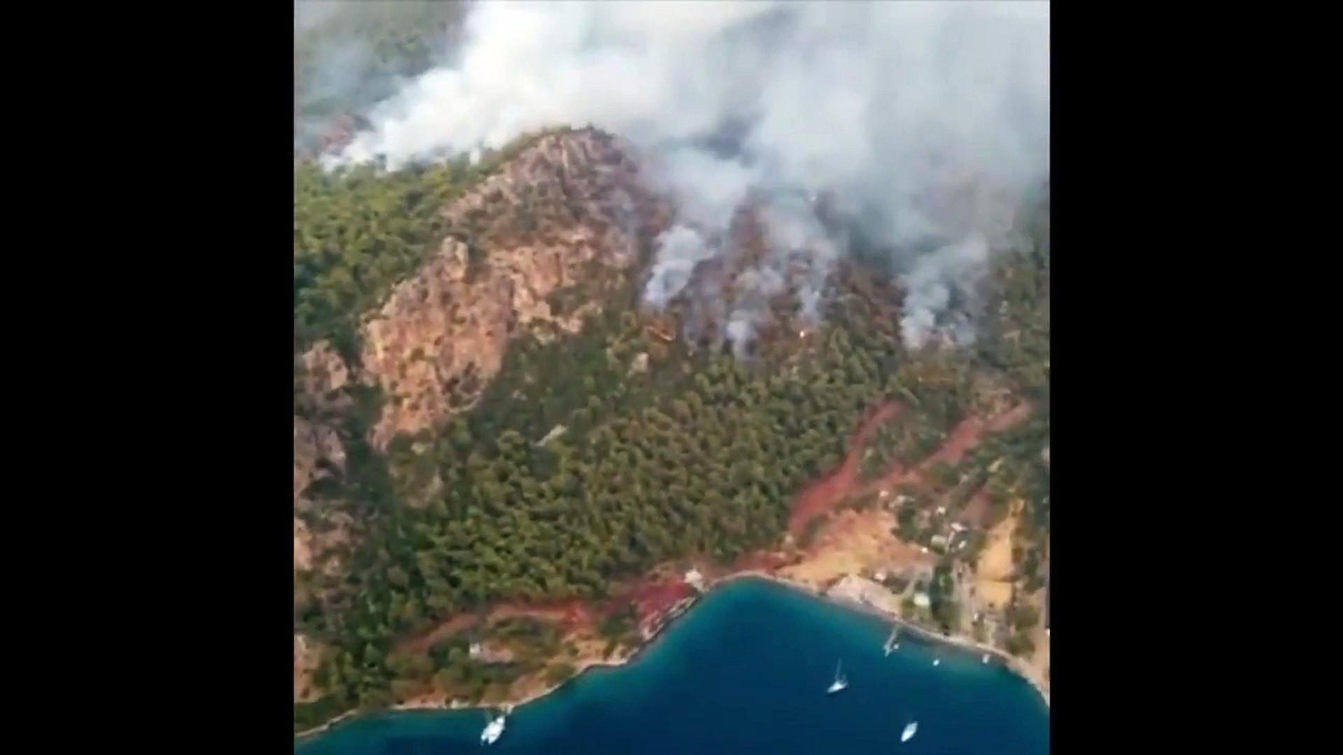 Fatih Portakal'ın yangın bölgelerindeki drone çekimleri olay oldu
