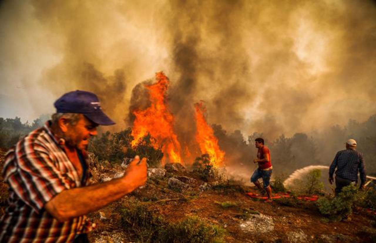 Alevlerle mücadelede 8'inci gün: 13 noktada yangın devam ediyor - Resim: 3